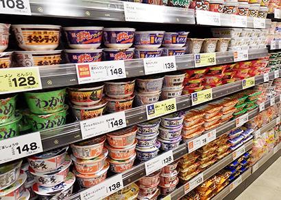 ◆即席麺特集:本格需要期に突入 各社、主力ブランド軸に攻勢