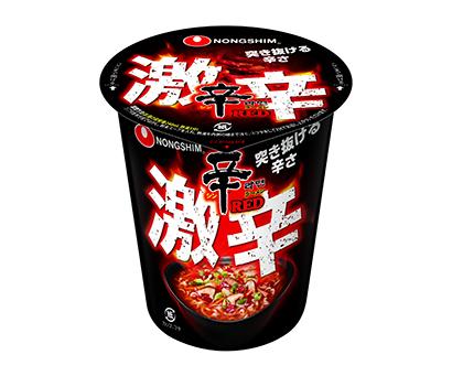 即席麺特集:農心ジャパン 「辛ラーメン」カップシリーズ強化