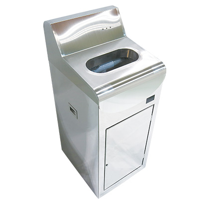 手指洗浄乾燥除菌装置「サンティウスプラス一体型」