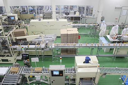 仙台工場の製造ライン