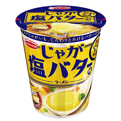 「じわとろ じゃが塩バター味ラーメン」発売(エースコック)
