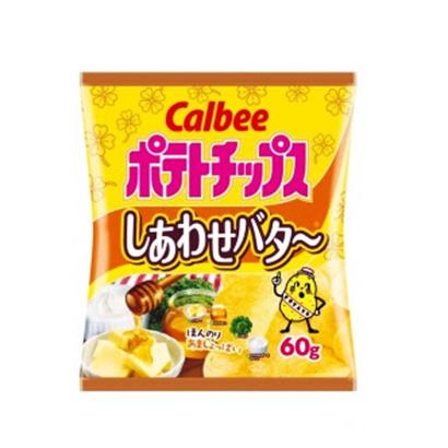 「ポテトチップス しあわせバタ~」発売(カルビー)