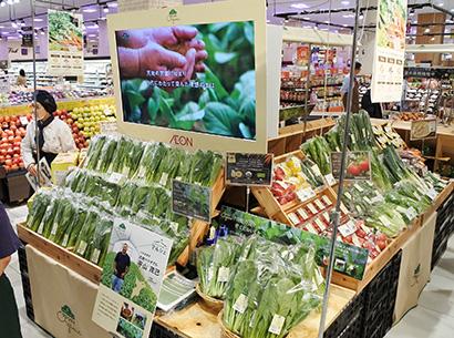 イオンオーガニックアライアンス、市場課題解決目指す 直営農場を物流拠点に