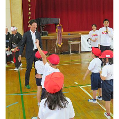 ダイドードリンコ「踊育 キャリア教育プログラム」開催 ダンスで奈良県を元気に