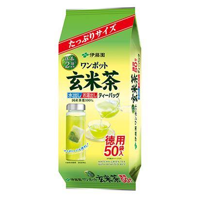 「ワンポット 抹茶入り玄米茶 ティーバッグ」発売(伊藤園)