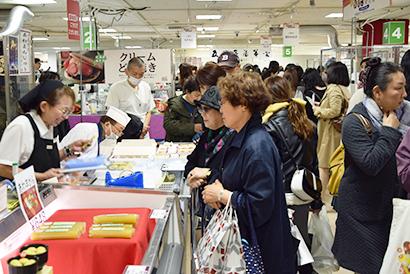 札幌三越で「あんこ博覧会」初開催