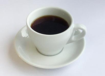 モーニングで提供されているきくの竹炭焙煎コーヒーブレンド