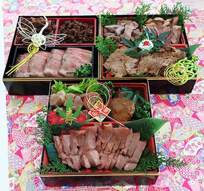 肉料理だけで構成するおせちを提案