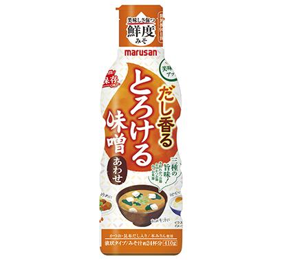 中部秋季特集:味噌・醤油=マルサンアイ 「鮮度みそ」シリーズ250万本を突破