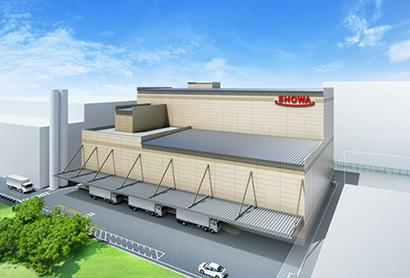昭和産業、船橋工場にプレミックス工場を新設