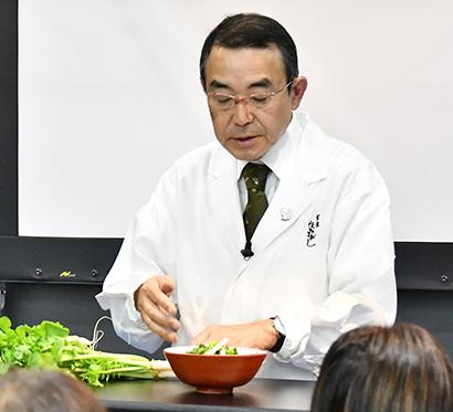 FABEX関西2019特集:料理マスターズ=草喰なかひがし・中東久雄代表