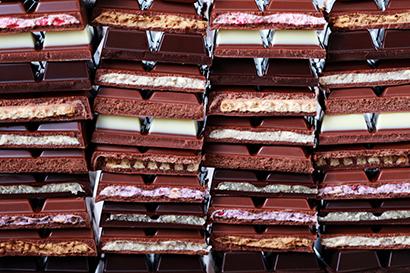 世界のチョコレート製品(写真提供=iStock)