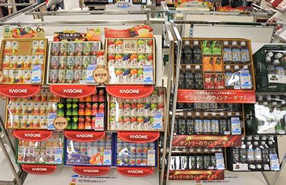 関東歳暮ギフト特集:清涼飲料 ネットやEC購入が増加