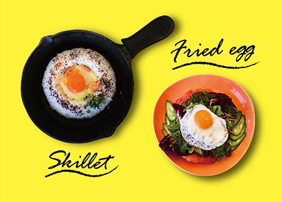 朝食ブッフェで提供するメニュー