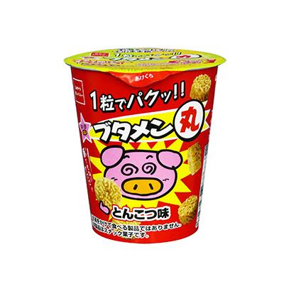 「ブタメン丸 とんこつ味」発売(おやつカンパニー)
