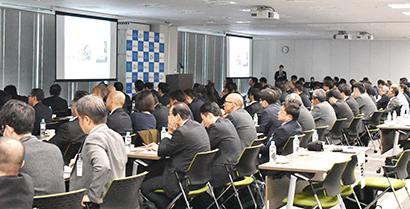 日本アクセス「AK研」、第1回講演会で上期活動など報告 高い原料調達力示す