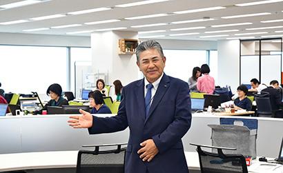 昭和産業大阪支店、新オフィスで主力部門のシナジー高める