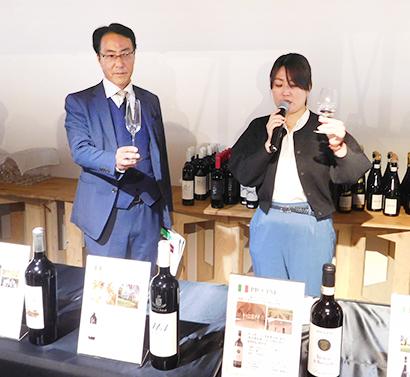 イオンリカー、ワイン飲み放題イベント開催 海外生産者が約100種類を提供