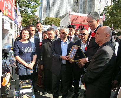 「マレーシアフェア2019TOKYO」開催 緊急来日のアブドゥラ国王登場