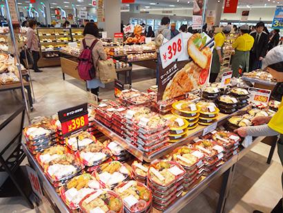 西友本八幡店、GMSからSMに転換 駅前立地で即食簡便