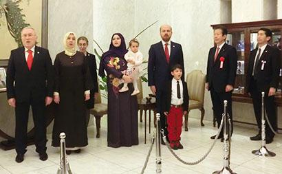 駐日トルコ共和国大使館、建国96周年記念レセプション開催