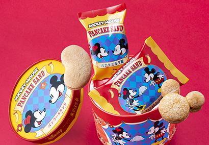 「ミッキーマウス/パンケーキサンド『見ぃつけたっ』」(C)Disney