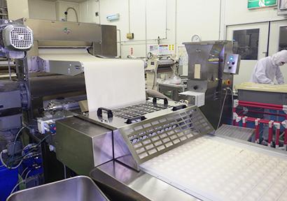 冷凍食品特集:昭和冷凍食品 新成型機で品揃え強化 来期は増産・拡販期す