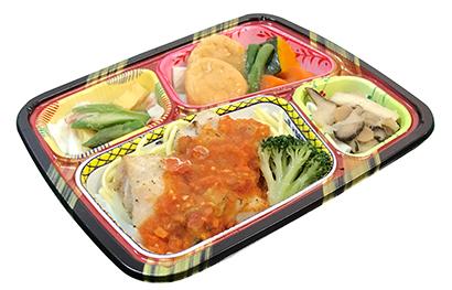 冷凍食品特集:トピックス=アサヒウェルネスフーズ 冷凍弁当年間500万食製造
