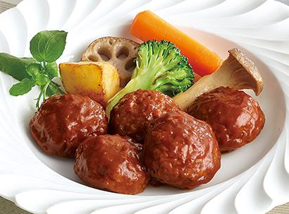 中部外食産業特集:ケイエス冷凍食品 鍵は「選択と集中」 ミニハンバーグ好評