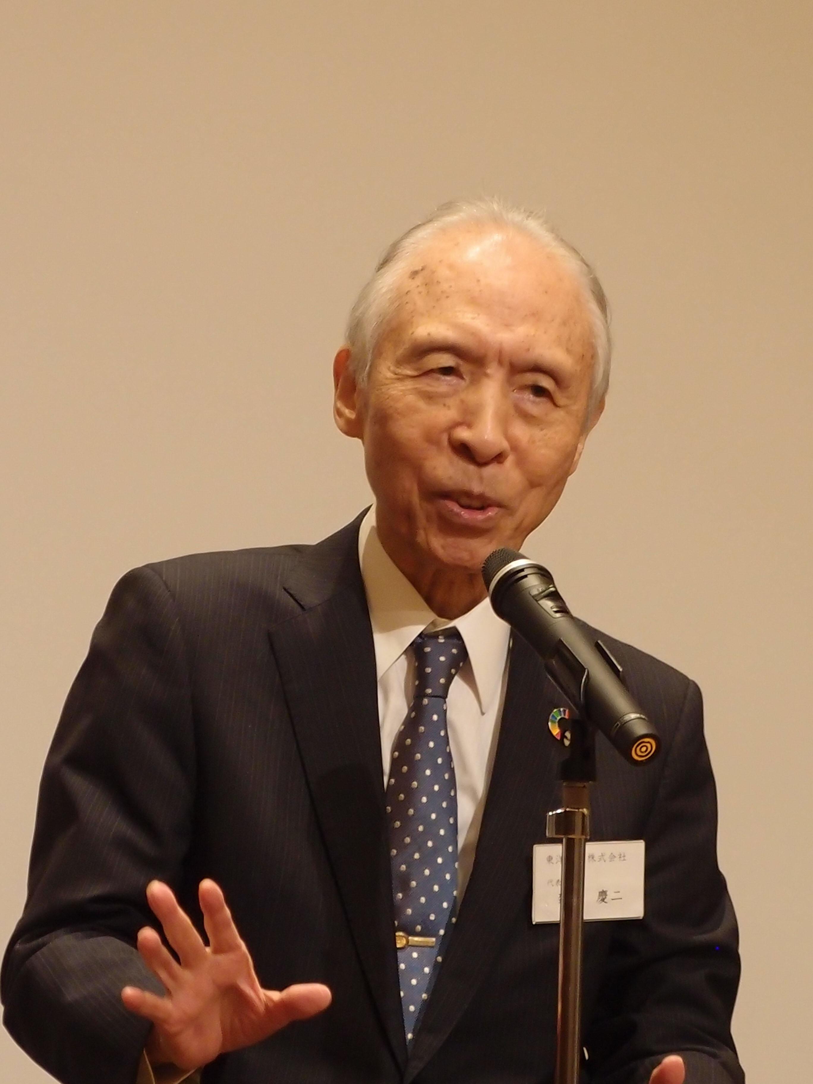 無洗米を広めた東洋ライスが国連で発表 「日本米の持続可能なアプローチ」テーマ…