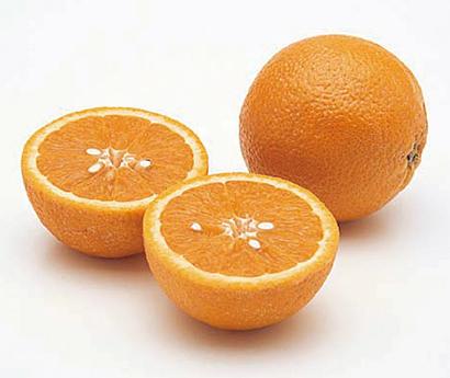 野菜果物で一皿のサプライズ:オレンジ