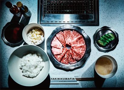 主力セットの「YAKINIKUMAFIA BBQ BAR PLATE COMBO SET」(税抜き5000円)