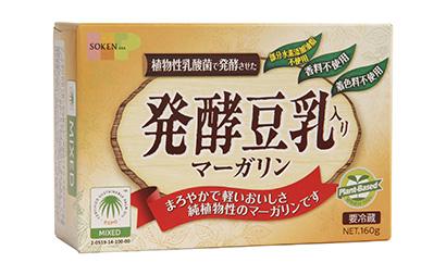 マーガリン類特集:創健社 巻き返しへアピール 発酵豆乳入りなど伸びしろ十分に