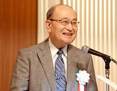 北海道流通特集:名刺交換会 主催者あいさつ=今野正義会長CEO