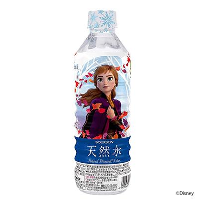 「アナと雪の女王 天然水」発売(ブルボン)