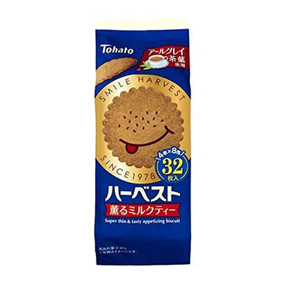 「ハーベスト 薫るミルクティー」発売(東ハト)