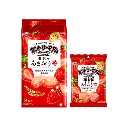 「カントリーマアム あまおう苺」発売(不二家)