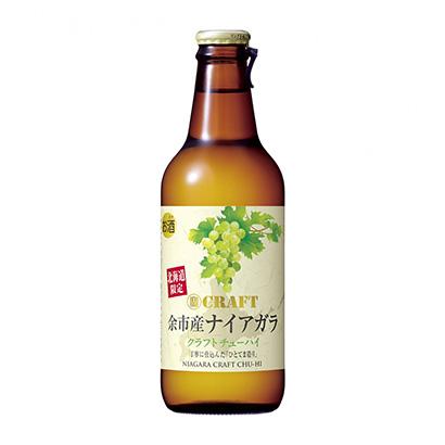 「寶CRAFT 余市産ナイアガラ」発売(宝酒造)