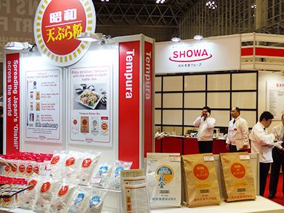 昭和産業は天ぷら粉を中心にアピールした