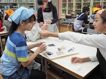 日本アクセス、小学校で出前授業 乾物・乾麺の良さ紹介