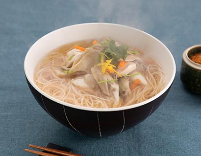 ヒガシマル醤油「うどんスープ」を使った揖保乃糸のにゅうめん