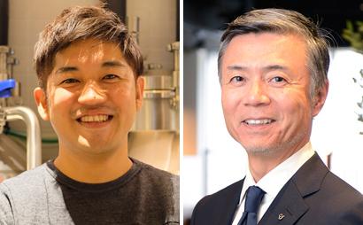 (左)田中徹氏、(右)文野直樹氏