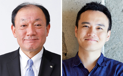 (左)布施孝之氏、(右)宮野浩史氏