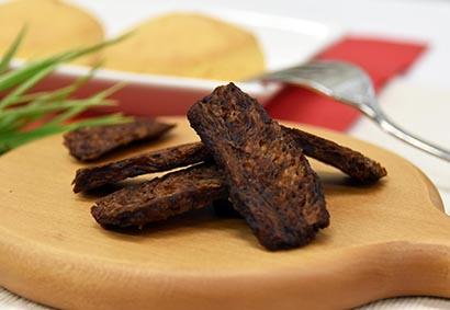 代替肉で作ったベジミートジャーキー