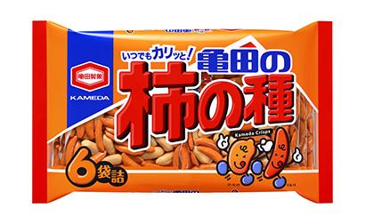 亀田製菓、「柿の種」ピーナツ比率を検討 「7対3」に支持集まる