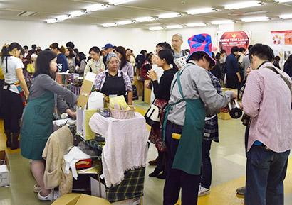 緑茶特集:第8回紅茶フェスティバル開催 多彩なイベント実施