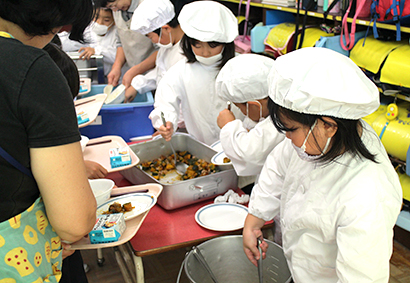 カゴメ、地野菜加工品を事業に 学校給食など提供