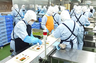 アサヒウェルネスフーズ、冷凍弁当・おせち製造特化型の新工場稼働