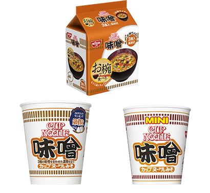 即席麺特集:日清食品 「カップヌードル」好調 「味噌」がけん引役
