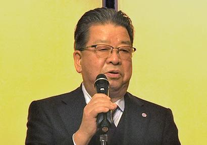 金田秀壽会長